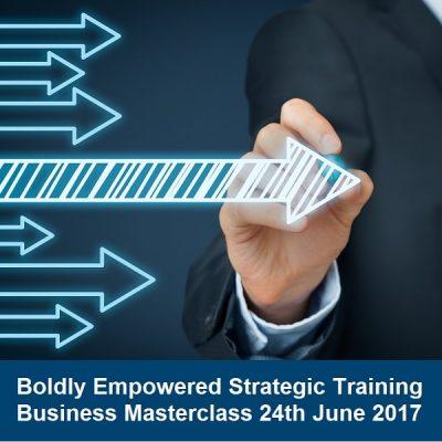 Boldly Empowered Strategic Training masterclass